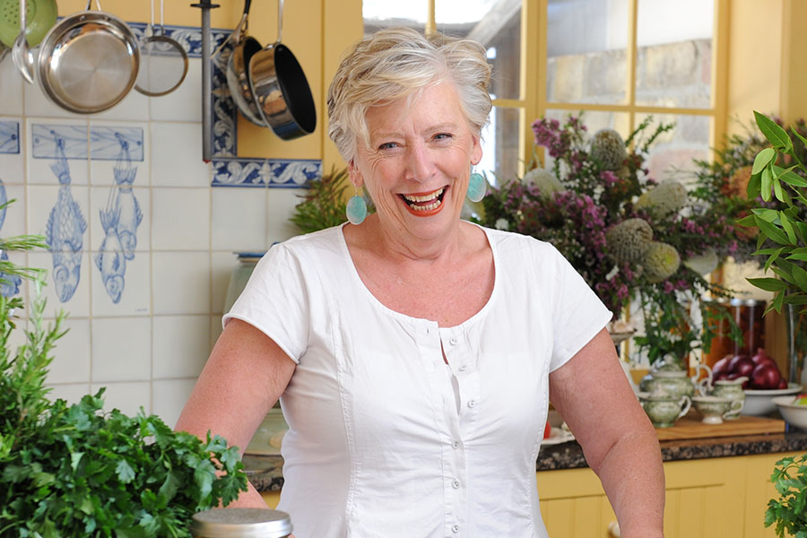 Maggie Beer's Christmas table.