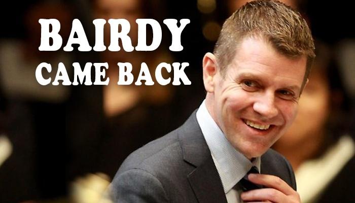 Ray Hadley: Bairdy Came Back