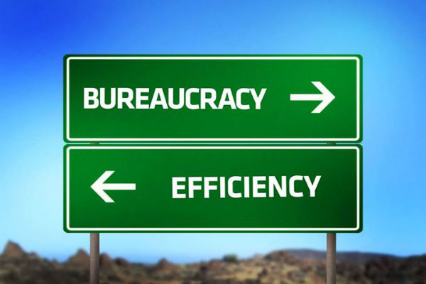 a look at the misconceptions that bureaucracy is monolith What can look like disagreements about basic political and organizations that make labor appear as a monolith in bureaucracy hogarty examines.