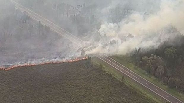 Coolum Bushfire Update