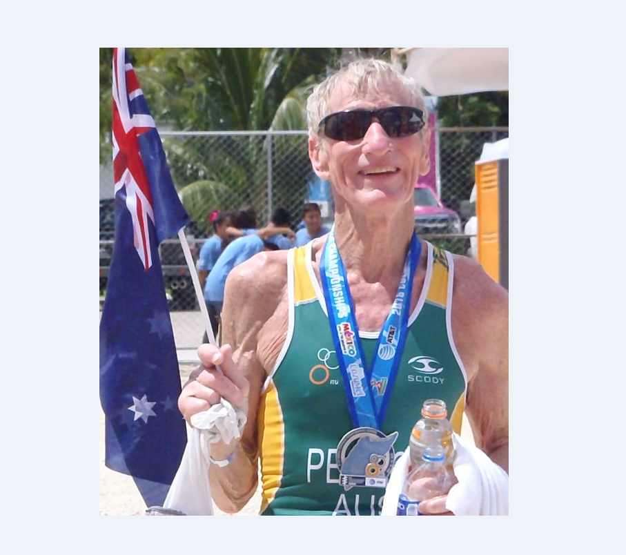 Good story: 81-year-old triathlete Keith Pearce qualifies for world series