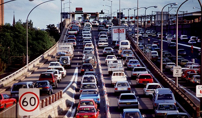 Sydney Congestion Capital Of Australia