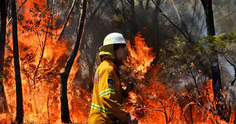 Firefighters Battling Blazes Across NSW