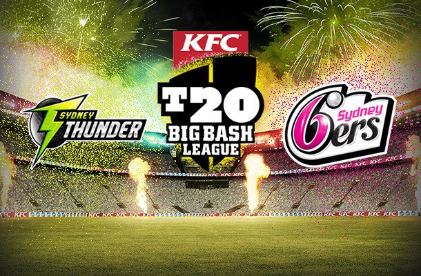 Summer Saturday – Sydney Sixers vs Sydney Thunder