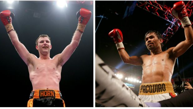 Where will Horn fight Pacquiao?