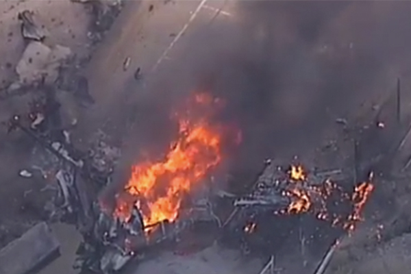 Article image for Major incident at Essendon Airport
