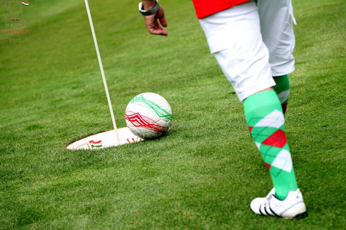 What is foot golf?
