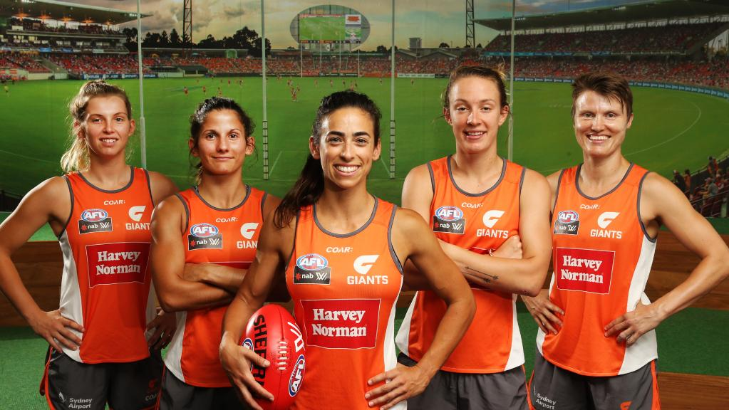 GWS Giants Captain Amanda Farrugia