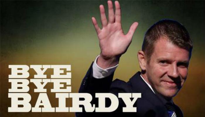 Ray Hadley: Bye Bye Bairdy