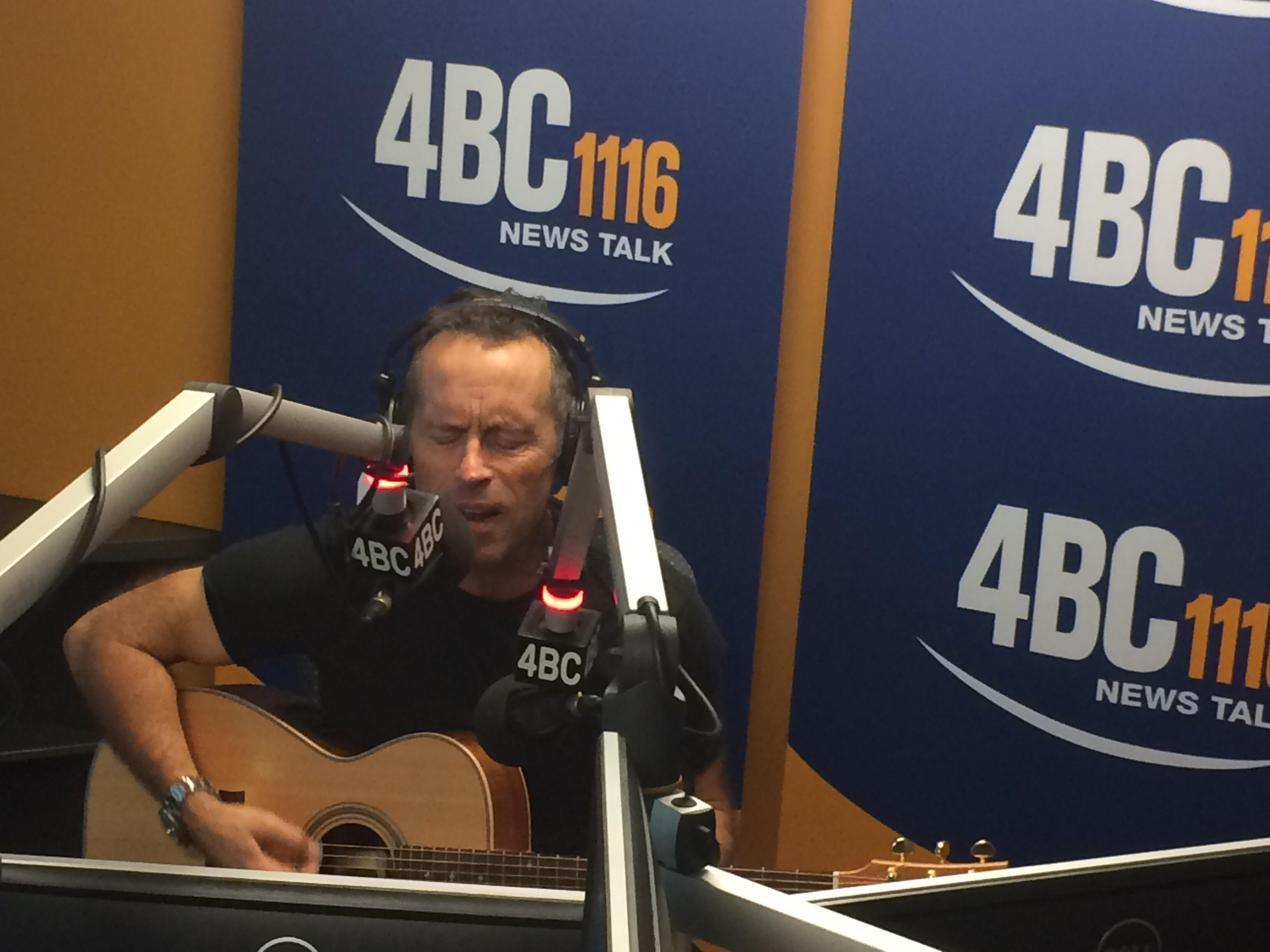 Mark Seymour presents Ben with the Holy Grail
