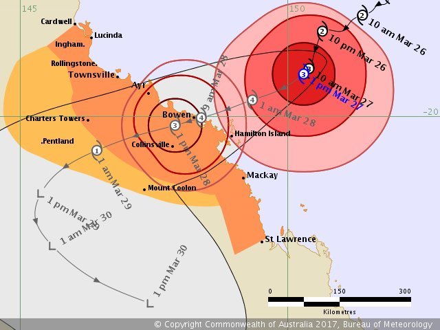 Cyclone Debbie Preparations Underway