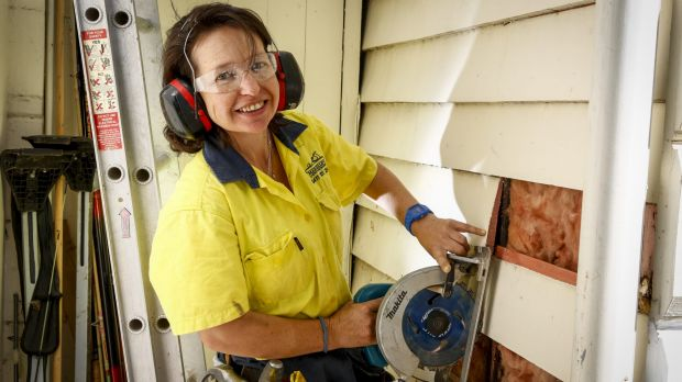 Would you hire a female tradie?