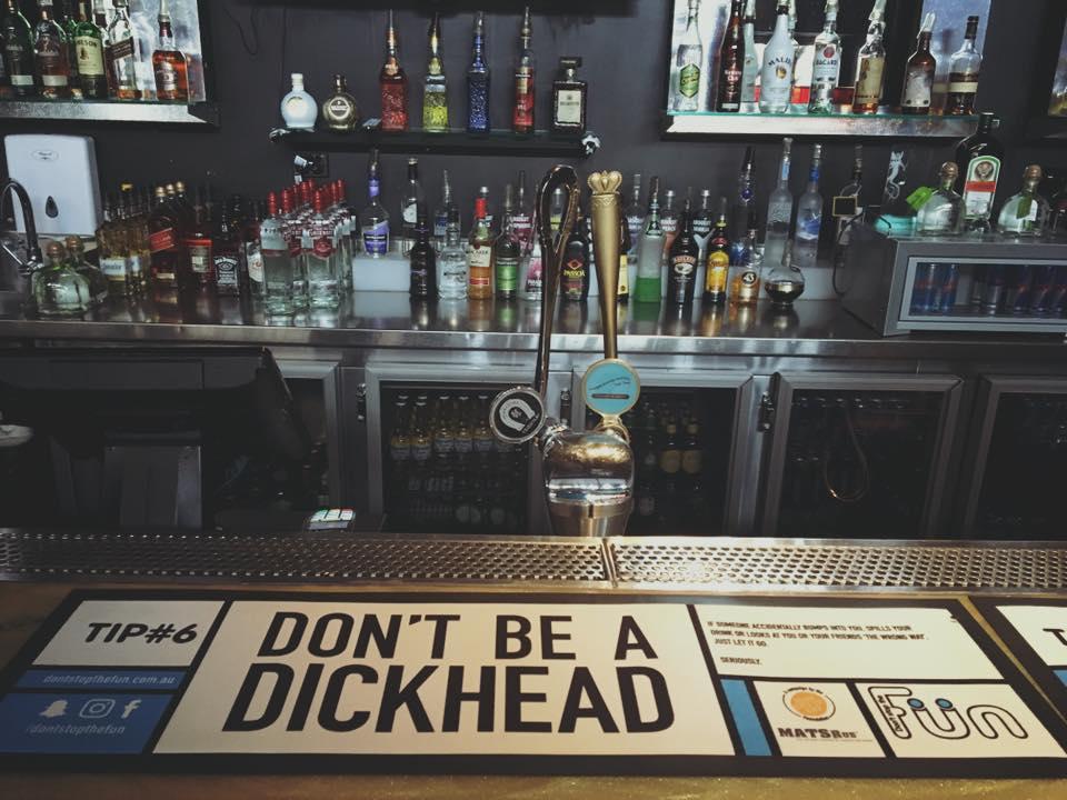 Don't Be a Dickhead