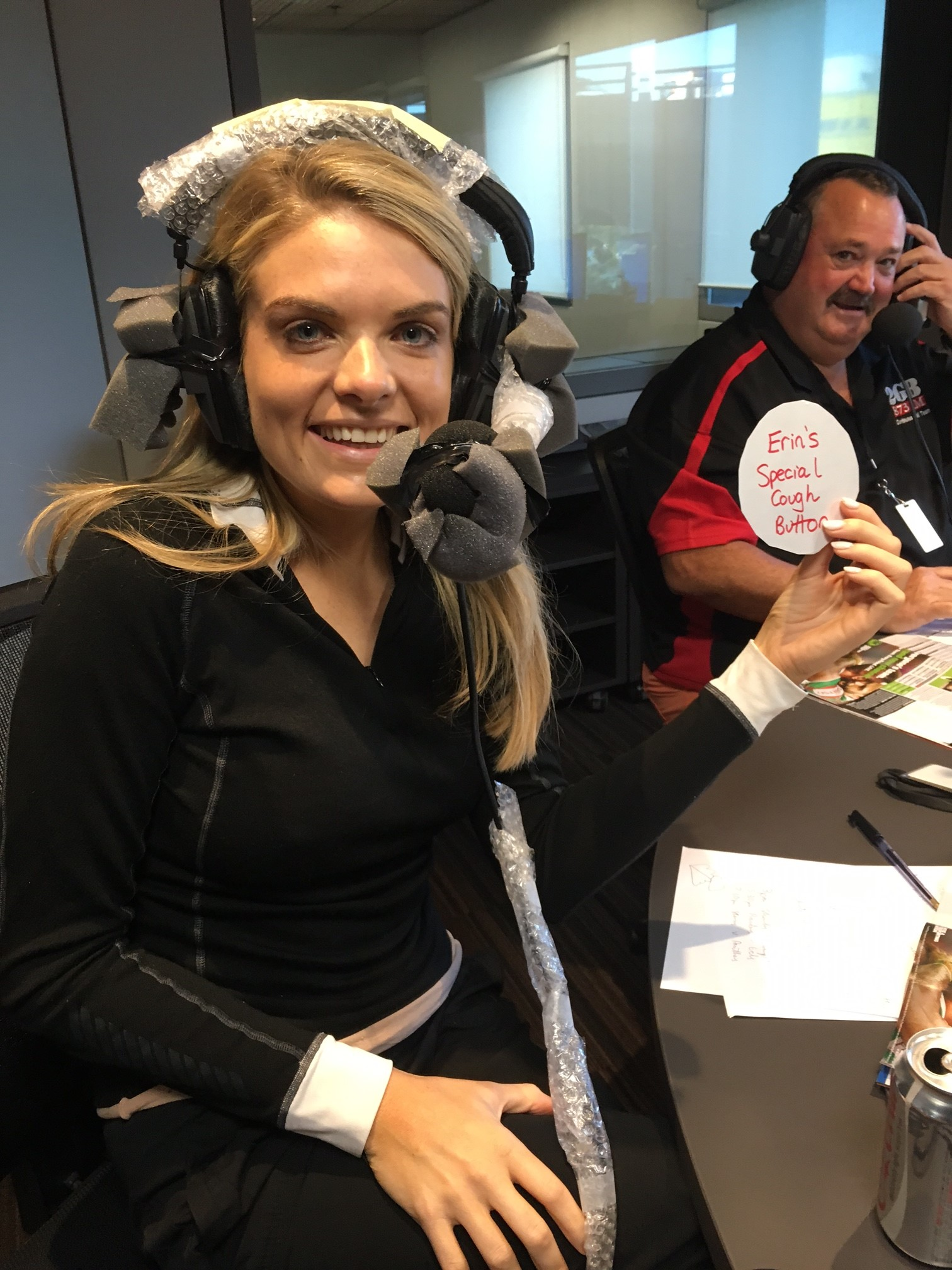 Article image for CCT – Erin Molan's special equipment