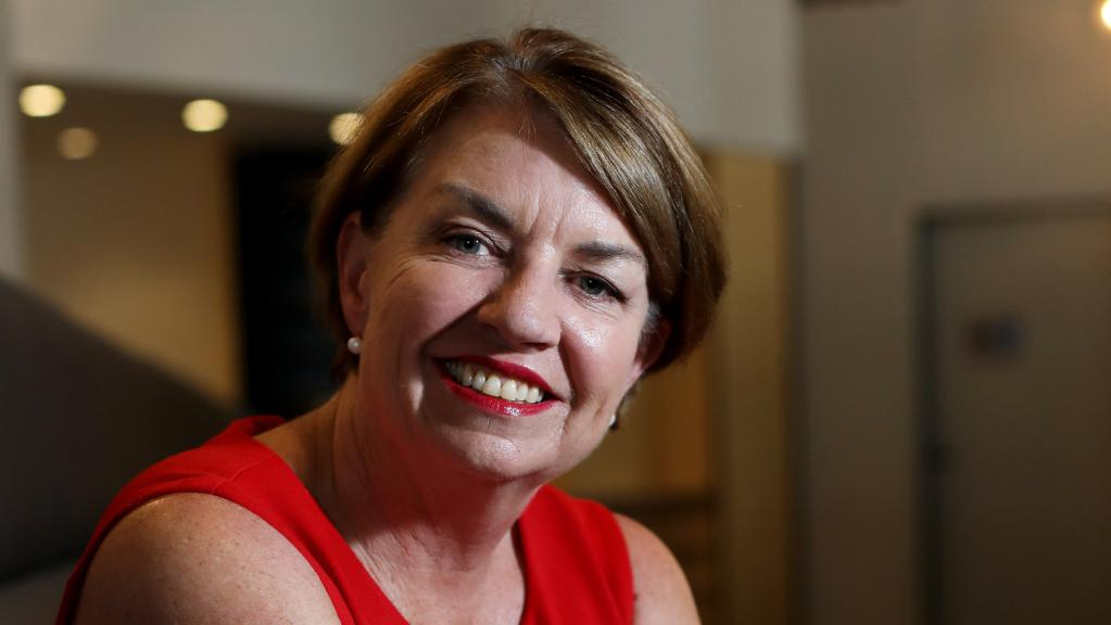 Anna Bligh reacts to bank levy