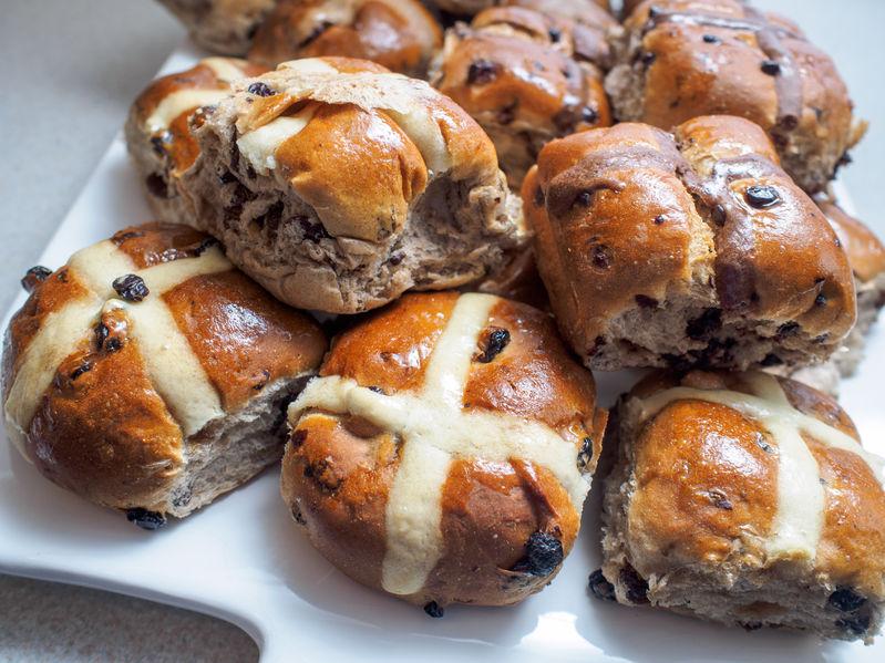 Where did Hot Cross Buns Originate?
