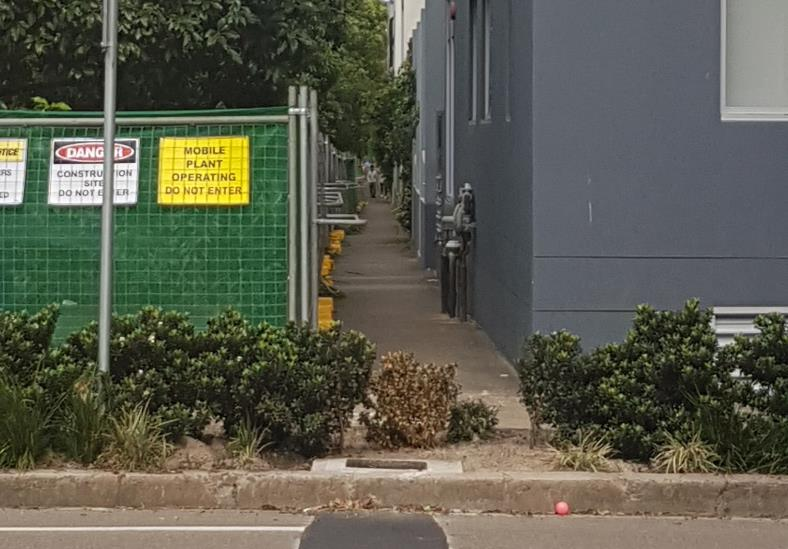 WestConnex road 2 meters from homes