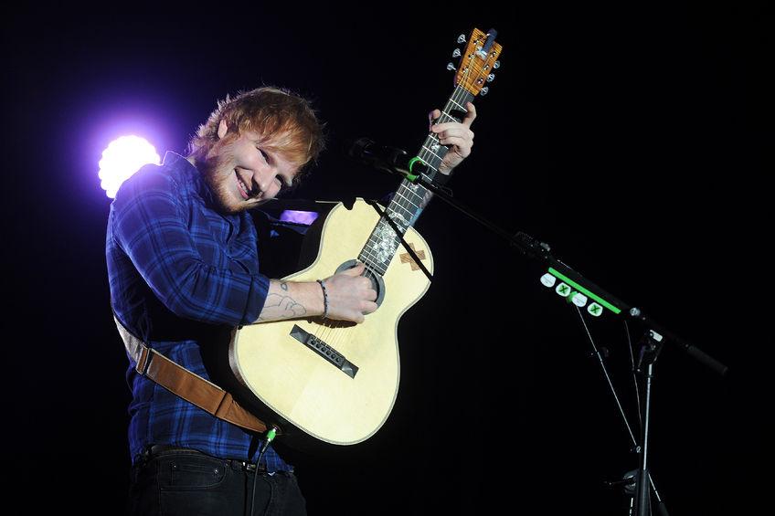 Ed Sheeran On His Way to Brisbane