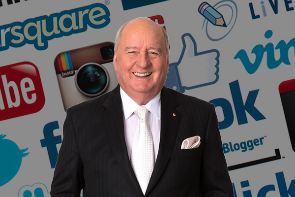 Alan Jones joins social media