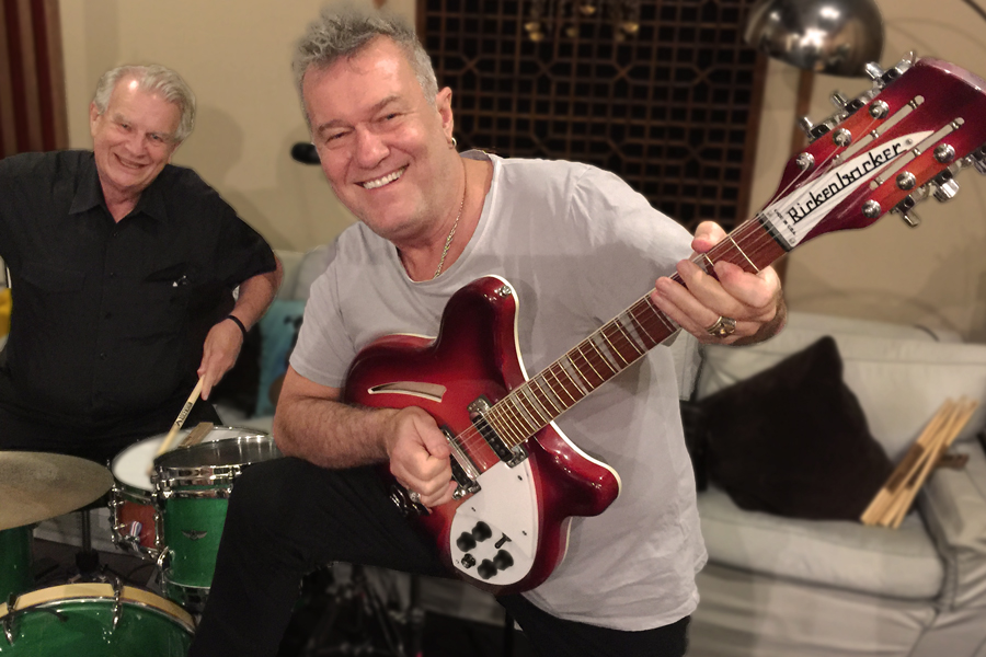 Jimmy Barnes and Rev. Bill Crews