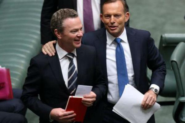 Tony Abbott unloads on Christopher Pyne