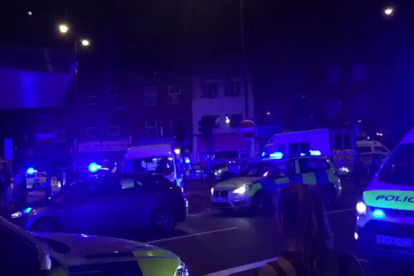 Article image for London: major incident as van collides with pedestrians