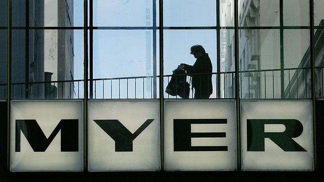 Myer shares plunge, as it downgrades profit