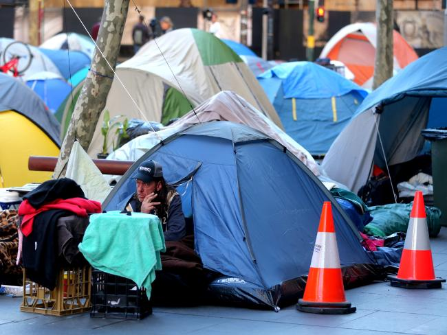 New laws to uproot Martin Place tent city