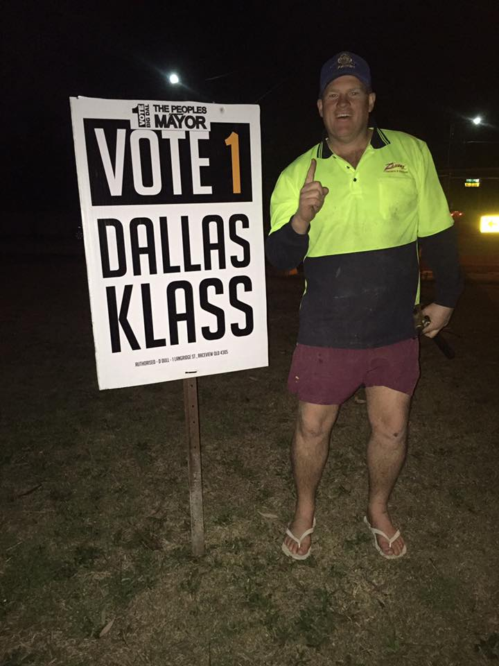 Ipswich By-Election Candidate: Dallas Klass