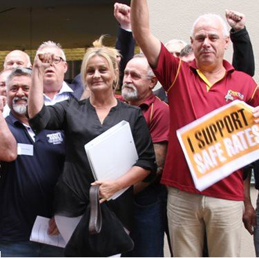 Unions Not Backing Down