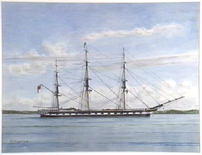 160 years since the sinking of the Dunbar