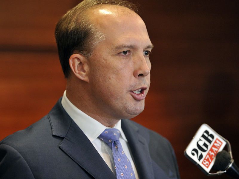 "Peter Dutton: ""Get a backbone and stand up to some of this political correctness"""