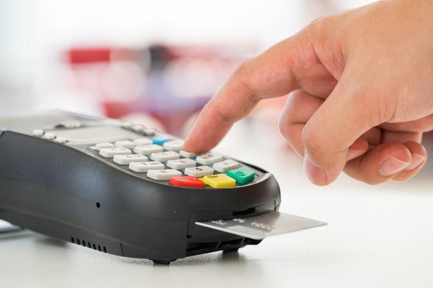 Retail spending turns down