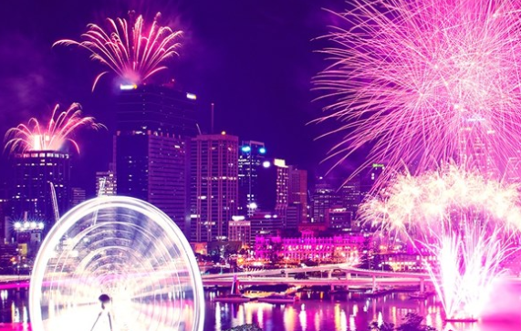 Brisbane Skyline set to Fire Up