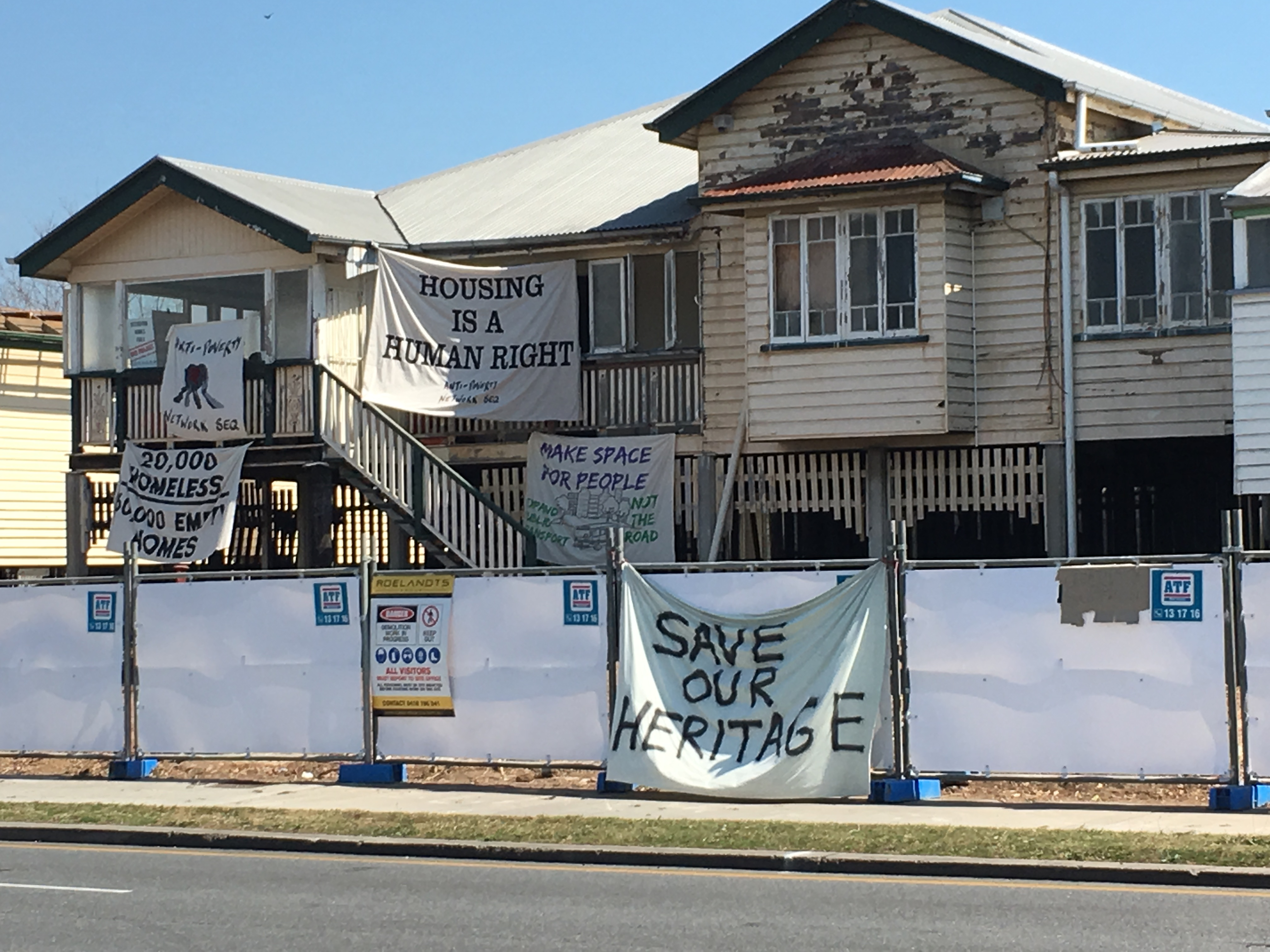 Protesters Postpone Lytton Rd Project
