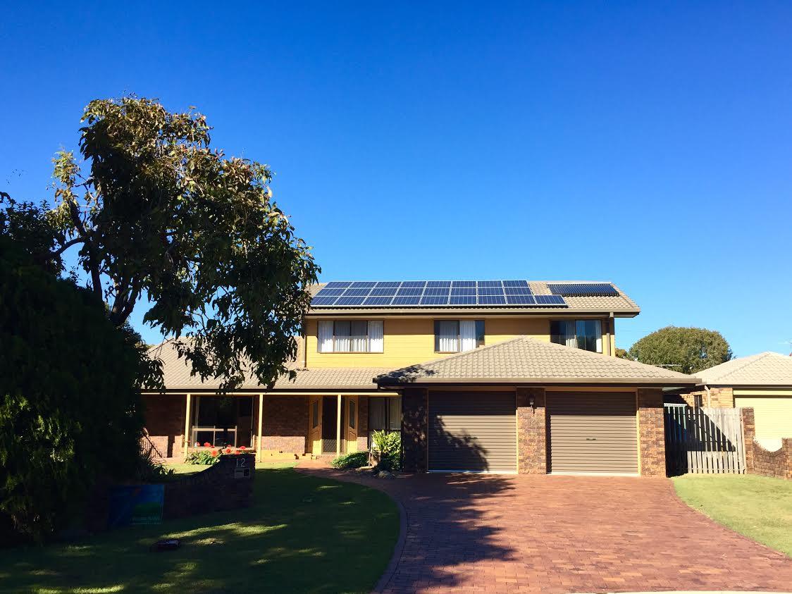 Solar farm burns money