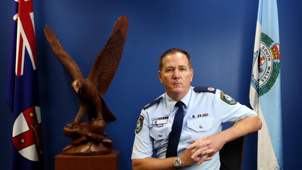 NSW Police Commissioner Mick Fuller