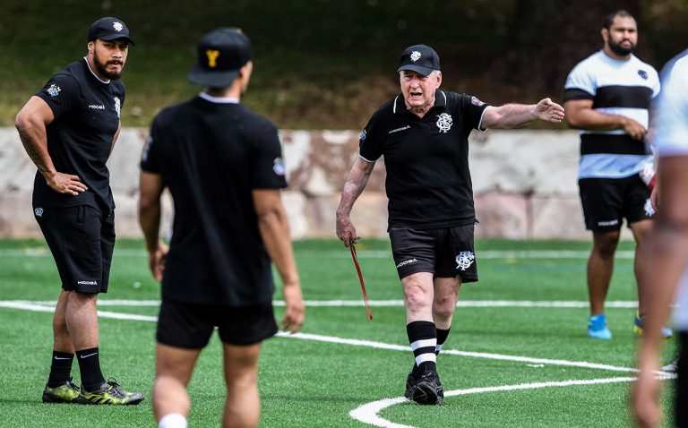 Alan Jones' Barbarians gear up for Wallabies clash