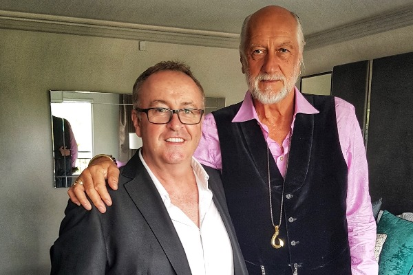 "Music superstar Mick Fleetwood will ""rock 'til he drops"""