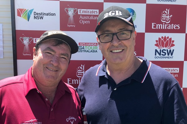 Article image for Veteran Aussie golfer Craig Parry winds back the clock at the Australian Open