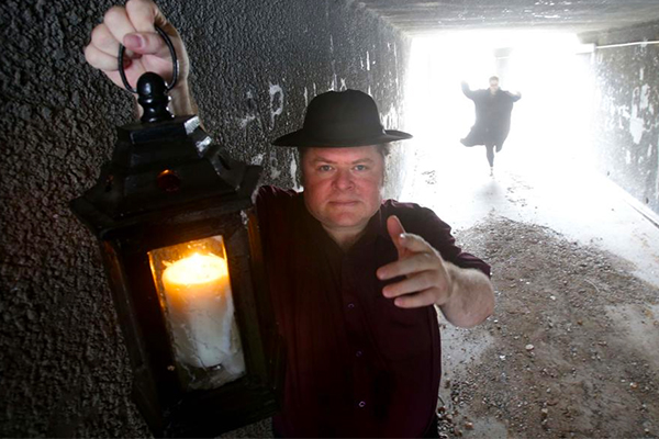 Get freaky: ghost aficionado Jack Sim scares people for a living