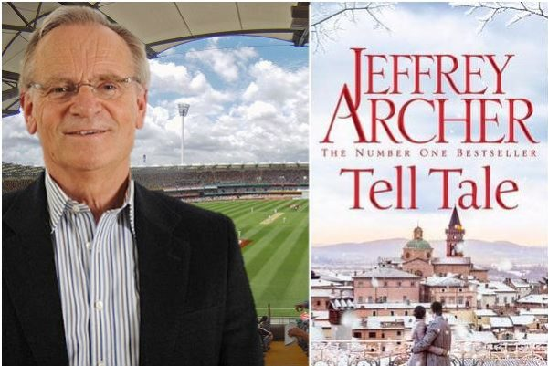 """Article image for """"Get lost Jones!"""" – Alan catches up with his old friend Lord Jeffrey Archer"""