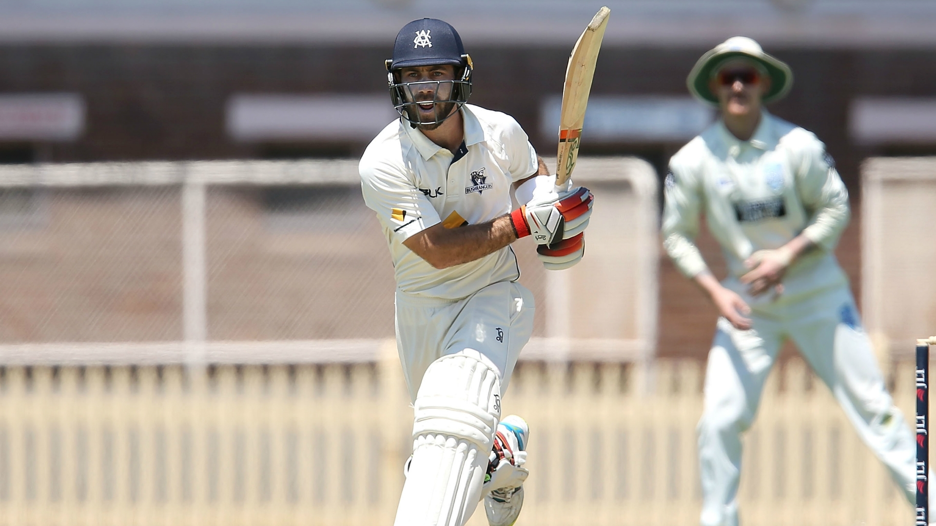Article image for Maxwell puts pressure on Marsh and selectors with blazing double-century
