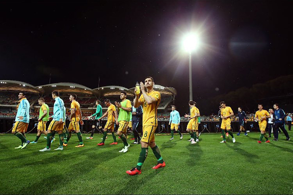Article image for Socceroo Bailey Wright after eliminating Manchester United