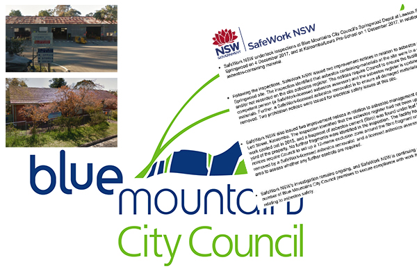 Article image for More asbestos notices issued to Blue Mountains Council