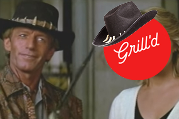 Article image for Paul Hogan suing Aussie burger company