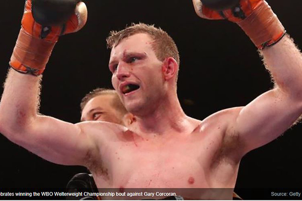 Article image for Jeff Horn retains welterweight world boxing title