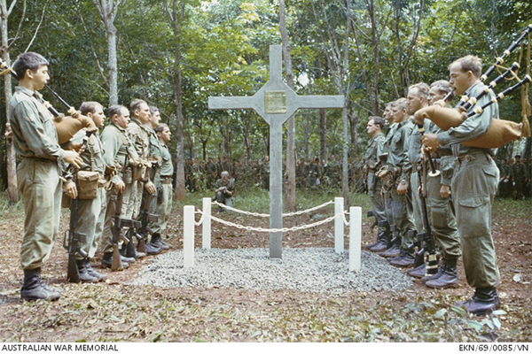 Vietnam War cross finally returned to Australian hands