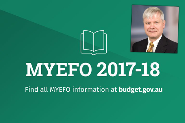 Expert analysis of MYEFO
