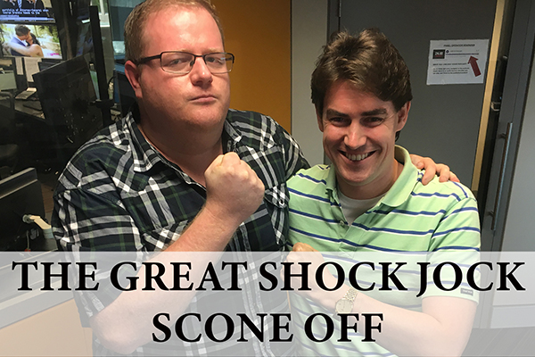 WATCH: The Great Shock Jock Scone Off
